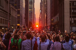 Manhattanhenge, July 11th, 2014