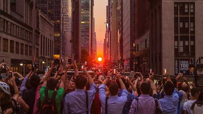 Guide to Manhattanhenge