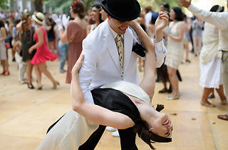 Jazz Age Lawn Party, Jazz Age Lawn Party, Governors Island, August 17th, 2014