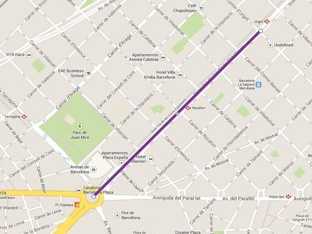 via catalana 2014. trams 51 a 44