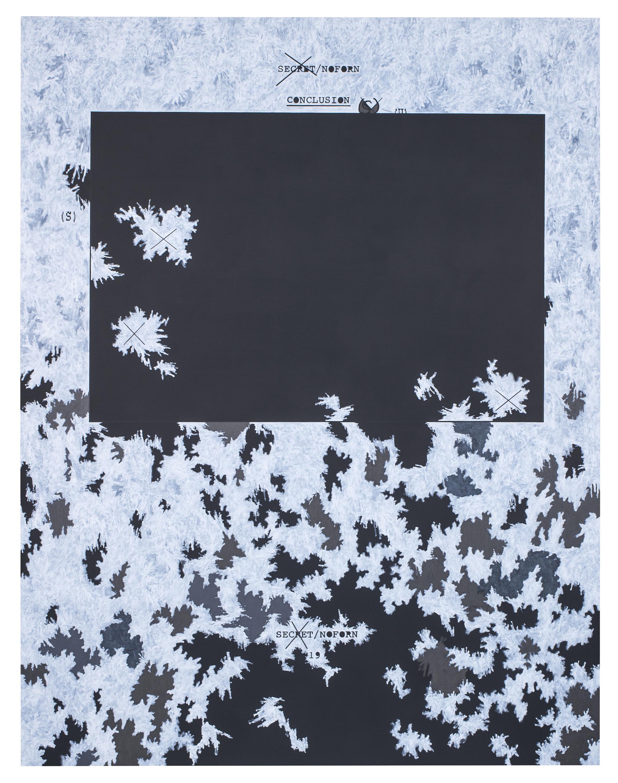 """Jenny Holzer, """"Dust Paintings"""""""