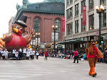 The McDonald's Thanksgiving Parade on State Street is one of the best Thanksgiving activities in Chicago.
