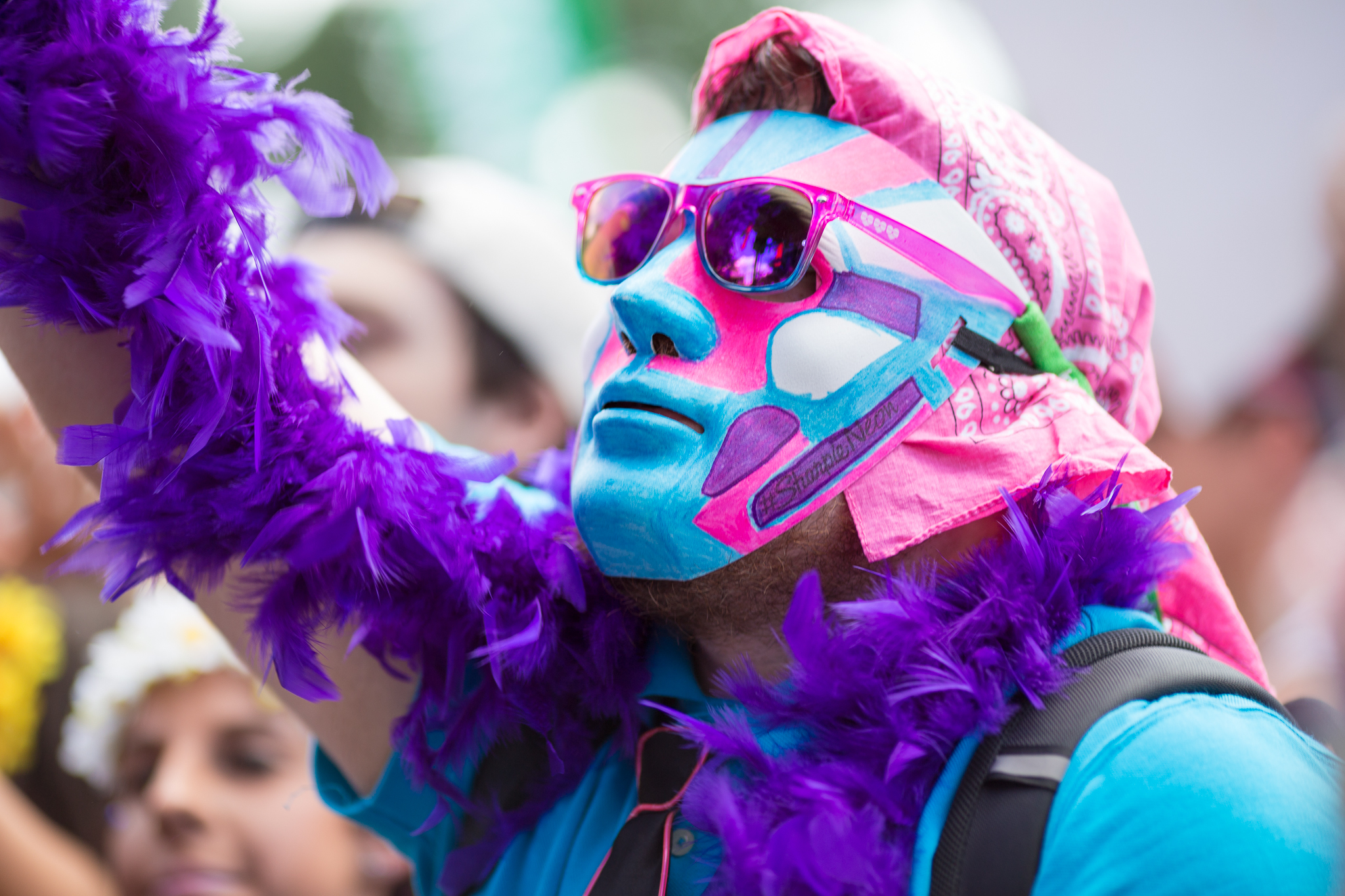 Crazy costumes at North Coast Music Festival 2014