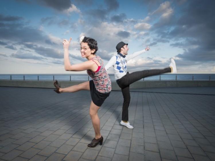 Bailar lindy hop en la Virreina