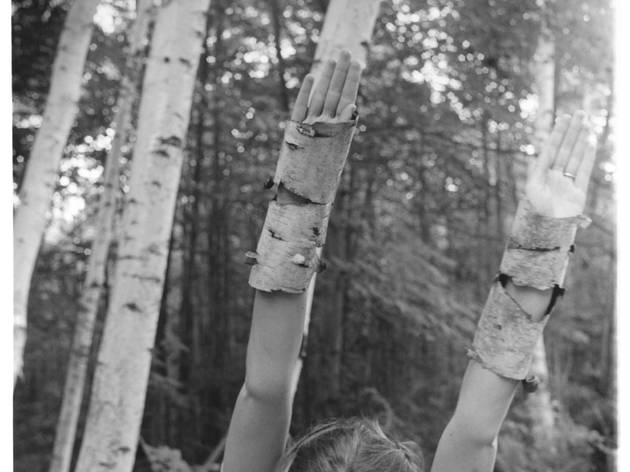 Francesca Woodman ('Untitled, MacDowell Colony, Peterborough, New Hampshire', 1980)