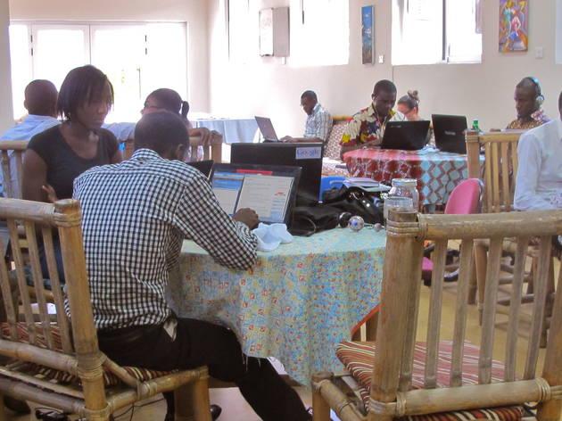 The Hub, Osu, Accra Ghana