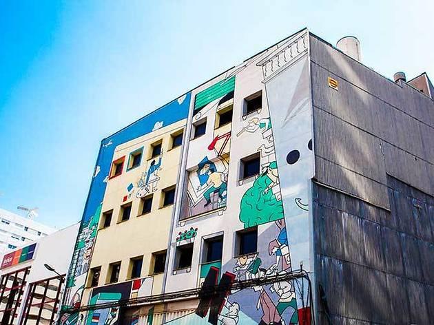 Mural del còmic
