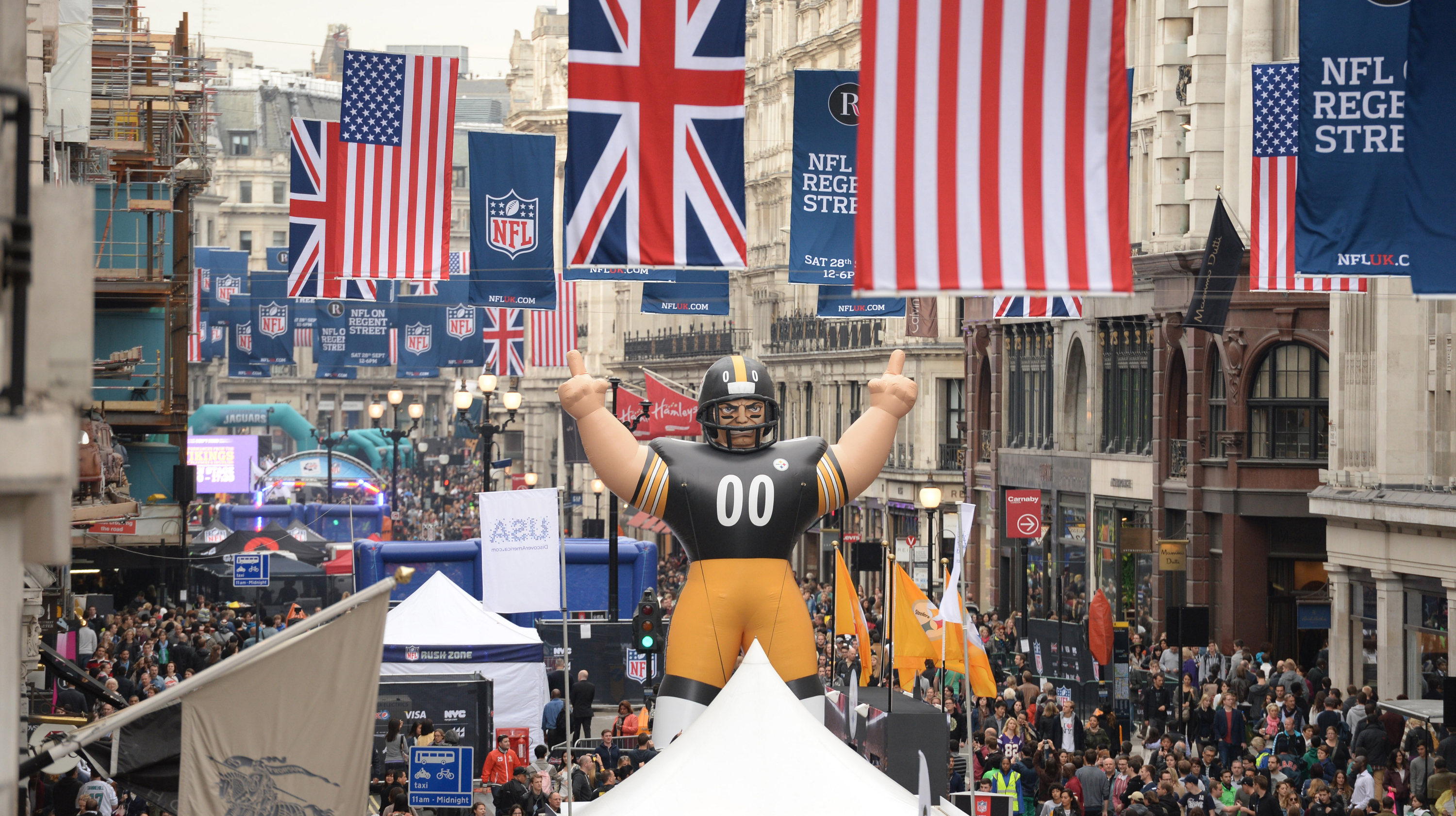 Where to watch the Super Bowl in London
