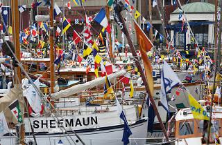 St Katharine Docks Classic Boat Festival
