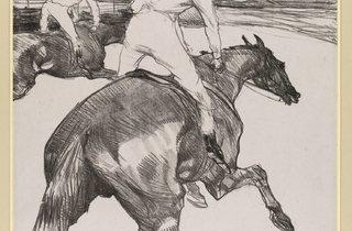 Henri de Toulouse-Lautrec ('The Jockey', 1899)