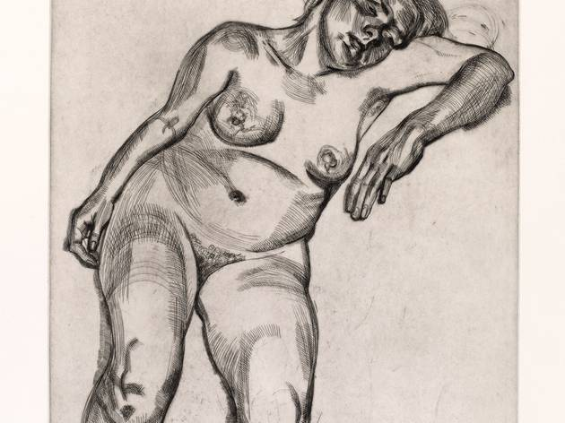 Lucian Freud ('Blond Girl', 1985)