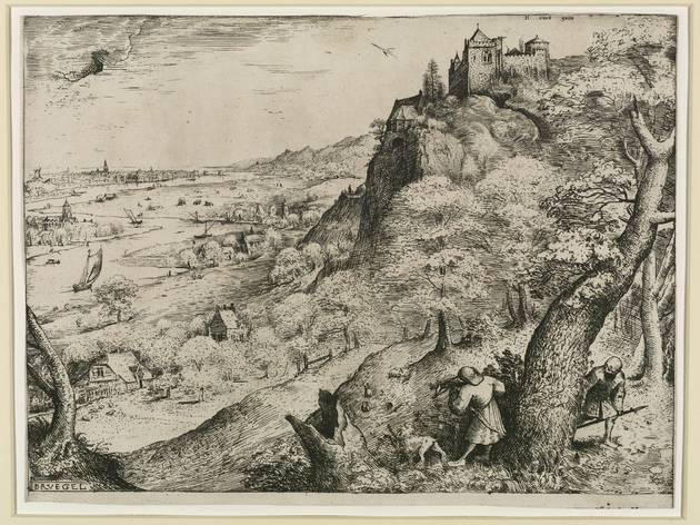 Pieter Bruegel the Elder ('Rabbit hunt', 1560)