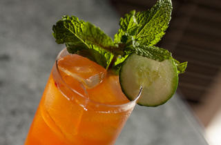 Pimm's Cup at NoMI Lounge