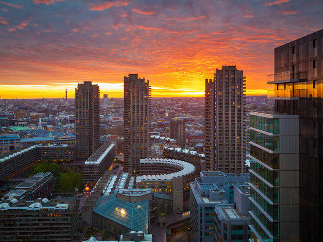 40 glowing photos of London at sunset