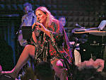 Bridget Everett performing in Rock Bottom