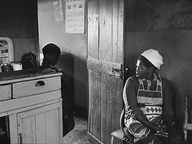 "Ernest Cole, ""Township mother fights losing battle to keep son, age nine, from running off to live life of the streets"", 1967"