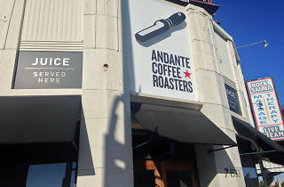 Andante Coffee Roasters.