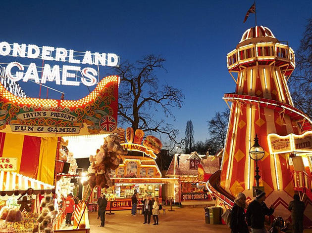 Guide To Winter Wonderland 2017 In Hyde Park Christmas