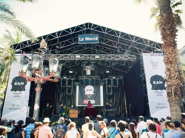 Mercè 2014: Mercè Music & BAM