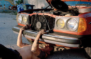 "Justine Kurland, ""Sincere Auto Care"""
