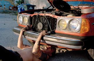 "Justine Kurland, ""Sincere Auto Care"""