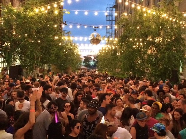 "The epic outdoor dance party ""Mister Sunday"" is coming back with a killer opening party"