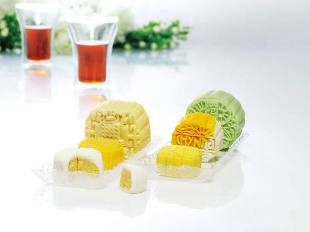 The best durian mooncakes