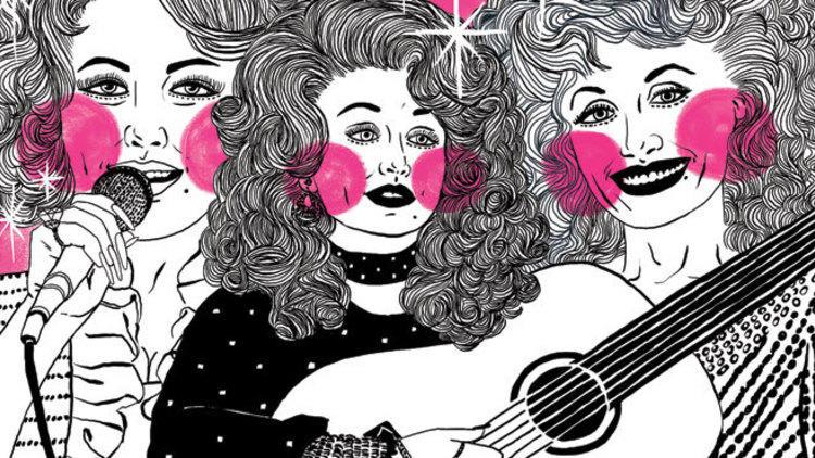 Dollypalooza, Dolly Parton artwork