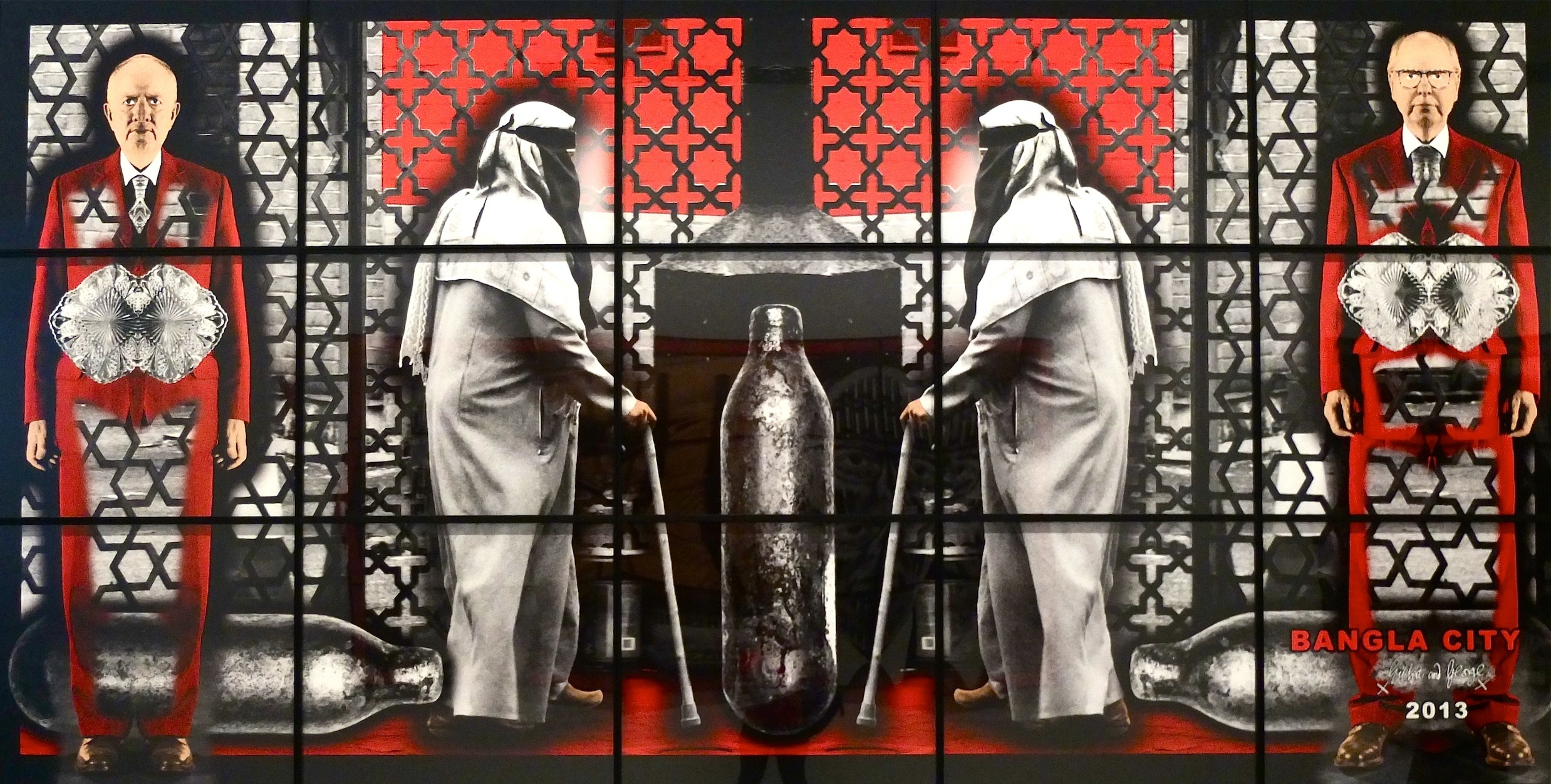 Expo • Gilbert & George : Scapegoating Pictures