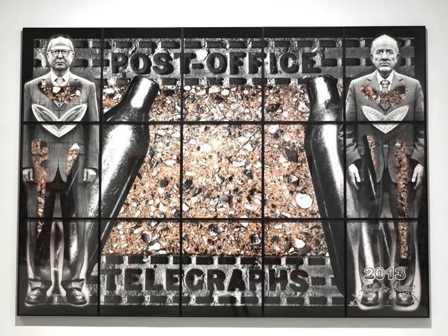 (Vue de l'exposition 'Gilbert & George : Scapegoat' / © TB)