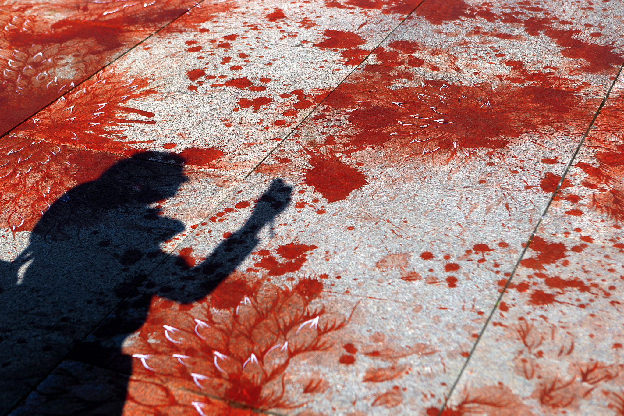 Imran Qureshi – 'And They Still Seek the Trace of Blood'
