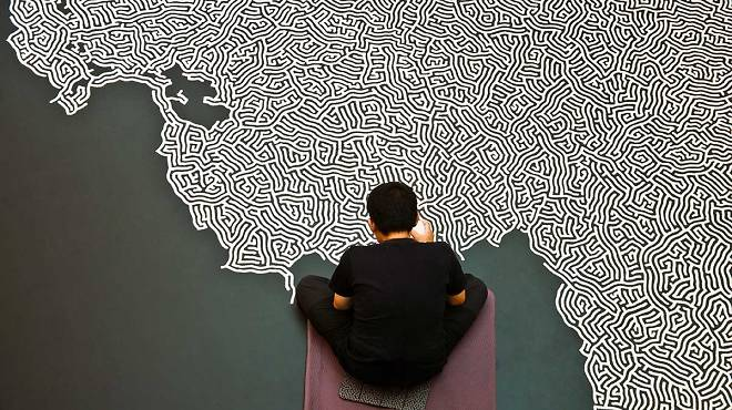 Motoi Yamamoto, 'Labyrinth', courtesy de l'artiste