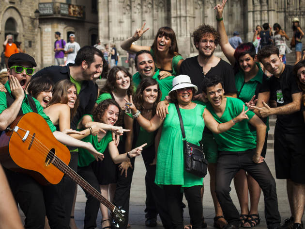 Mercè 2014: Ol'Green + Orquesta Plateria