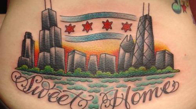 Chicago-themed tattoos