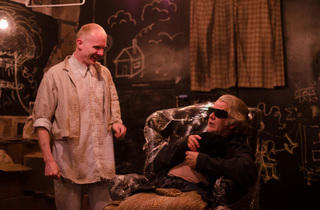 Bries Vannon and Vincent Lonergan in Endgame at Right Brain Project