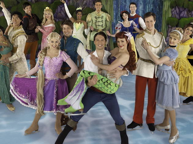 "Cast of ""Disney On Ice Presents: Princesses & Heroes"""