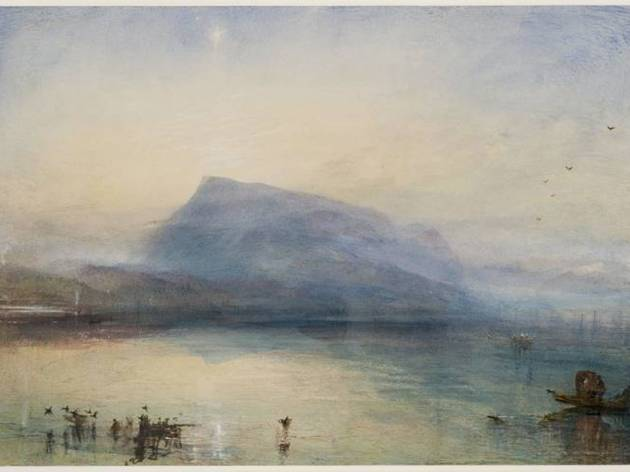 JMW Turner ('The Blue Rigi', 1841-2 )