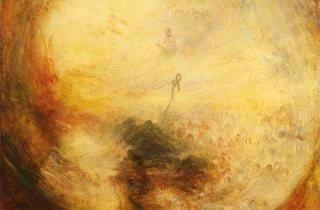 JMW Turner ('Light and Colour (Goethe's Theory) - the Morning after the Deluge - Moses Writing the Book of Genesis', 1843 )