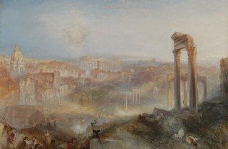 JMW Turner ('Modern Rome - Campo Vaccino', 1839 )