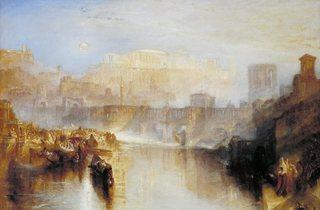 JMW Turner ('Ancient Rome; Agrippina Landing with the Ashes of Germanicus', exhibited 1839 )