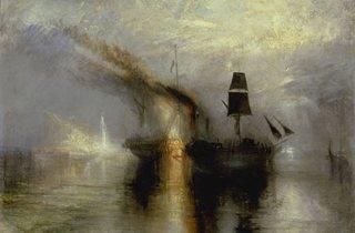 JMW Turner ('Peace - Burial at Sea', 1842 )