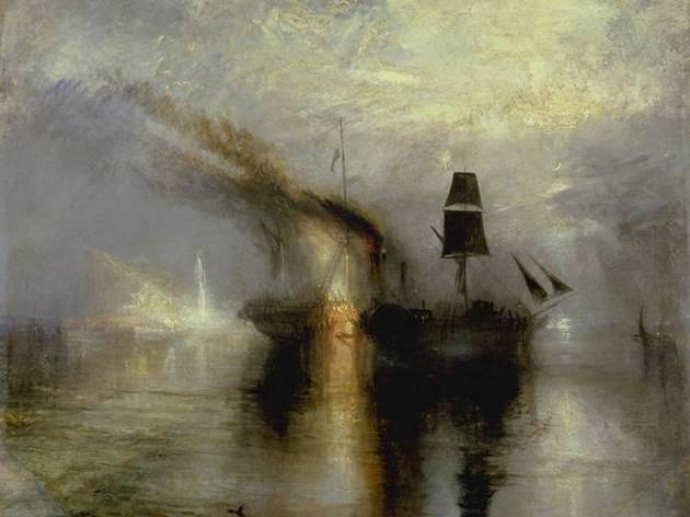 JMW Turner ('Peace - Burial at Sea', 1842 )