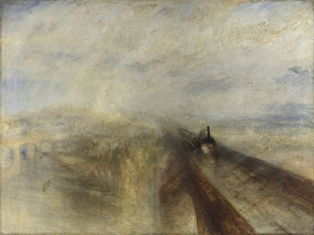 JMW Turner ('Rain, Steam, and Speed – The Great Western Railway', 1844 )