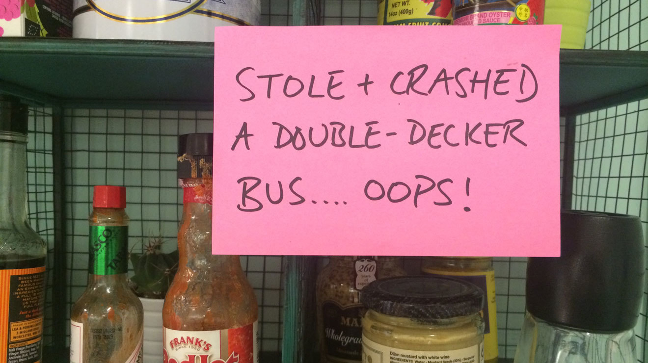 32 Londoners reveal the naughtiest thing they've ever done