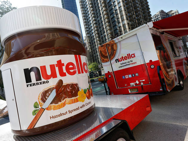 "Nutella ""Spread the Happy"" Truck Tour"