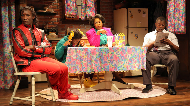 WTF is going on in this wacky theater pic? Bootycandy at Playwrights Horizons