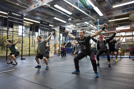 Find the best CrossFit gym in NYC
