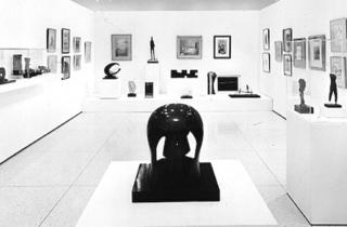 Installation view of the Smart's inaugural exhibition in 1974.