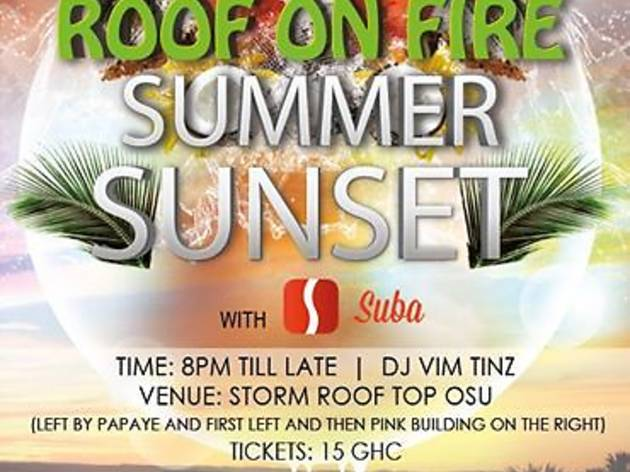 Roof on Fire DJ Vim TInz