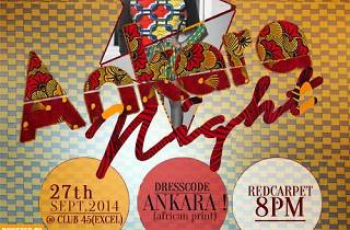 Ankara Night at Club 45 Accra, Ghana